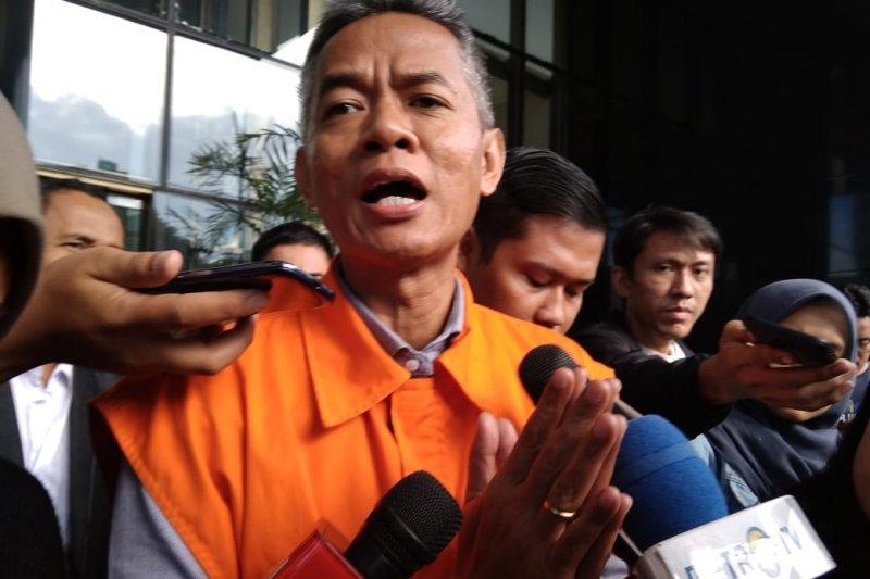 KPK eksekusi Wahyu Setiawan ke Lapas Kedungpane Semarang
