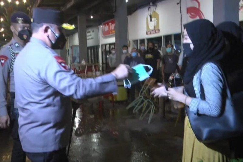 Kapolda Metro: Operasi yustisi prokes beri edukasi dan penegakan hukum