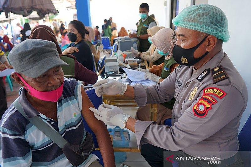 Vaksinasi COVID-19 dosis lengkap bertambah 132.936 orang