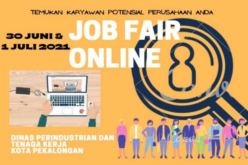 Tekan pengangguran, Pemkot Pekalongan gelar bursa kerja daring