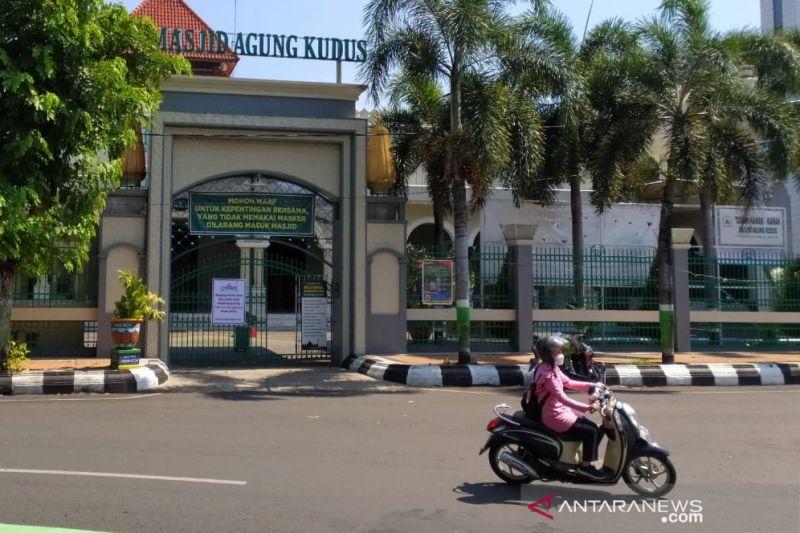 Masjid Agung Kudus tak selenggarakan shalat Jumat karena zona merah