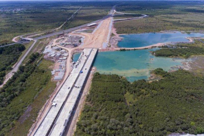 Hutama Karya targetkan Tol Indra Prabu rampung 2022