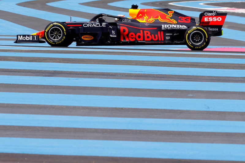 Verstappen puncaki FP2 GP Prancis, unggul 0,008 detik dari Bottas