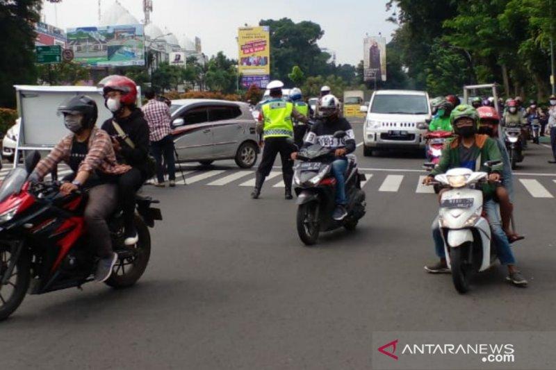 Ganjil-genap di Bogor, 1.946 kendaraan diputarbalik arah