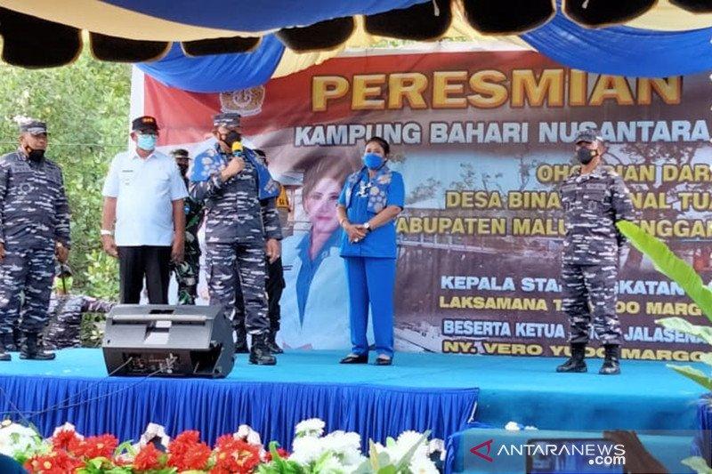 KASAL resmikan Kampung Bahari Nusantara di Maluku Tenggara