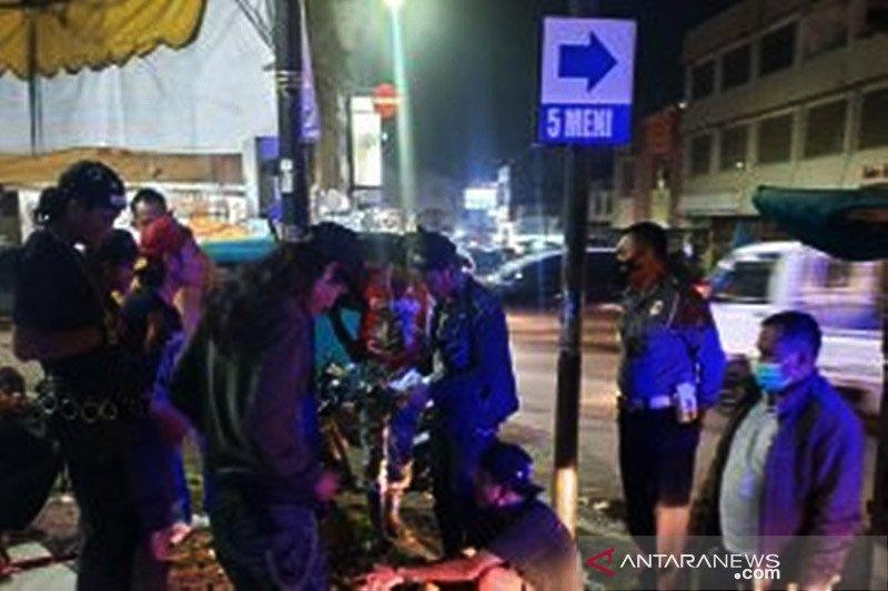 Polisi amankan sembilan orang diduga preman di Kota Serang