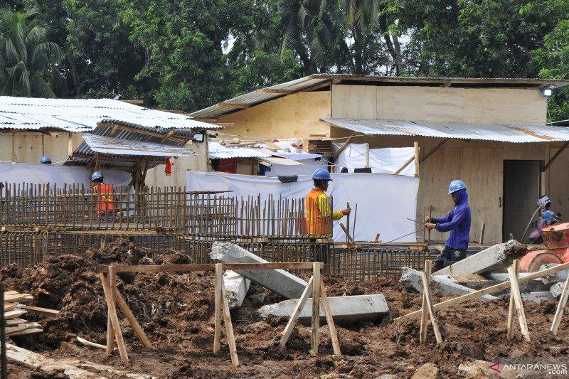 Mensos Risma targetkan rusunawa di Bekasi rampung Desember 2021