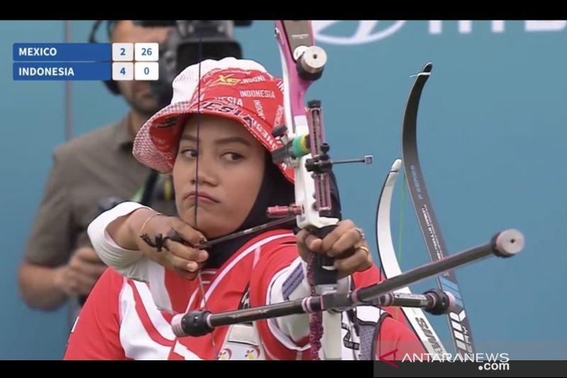 Tim panahan putri Indonesia gagal segel tiket beregu Olimpiade Tokyo