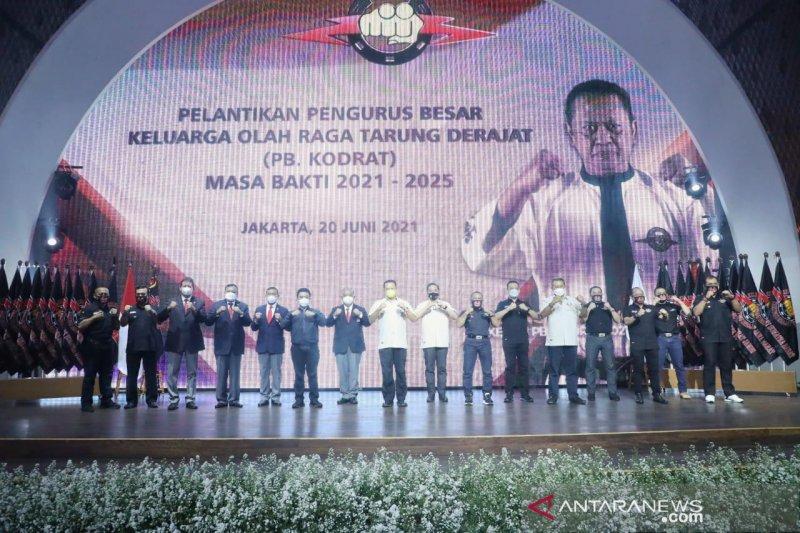 Bambang Soesatyo dilantik jadi ketua umum PB Tarung Derajat
