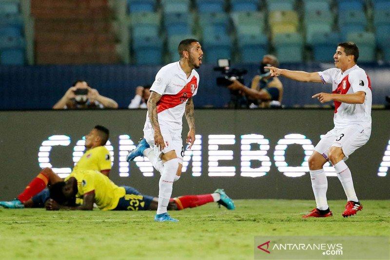 Copa America 2021: Peru kalahkan Kolombia 2-1