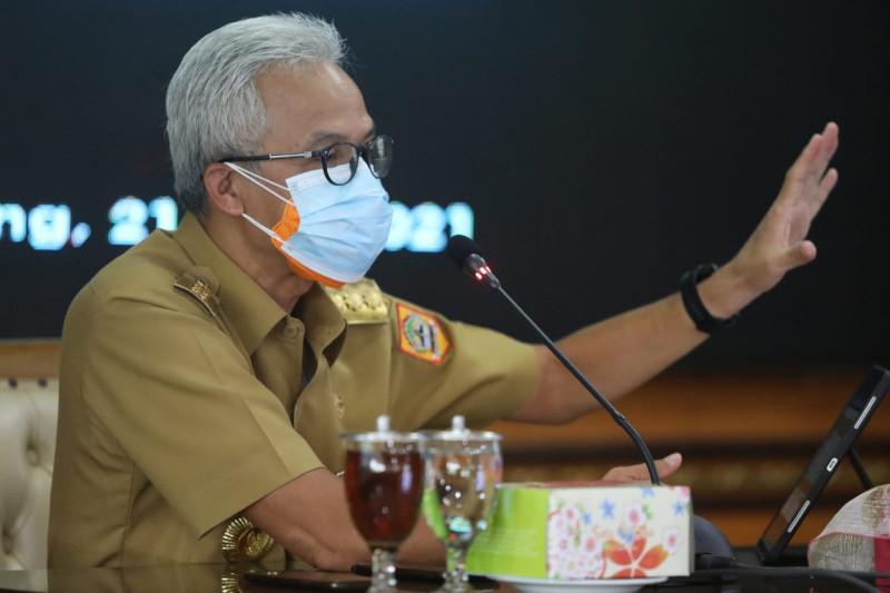 """Kepala daerah di Jateng diminta tak ragu terapkan """"micro lockdown"""""""