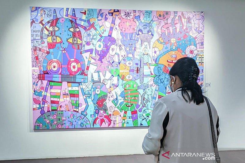 Art Moments Jakarta Online 2021 promosikan seni rupa Indonesia