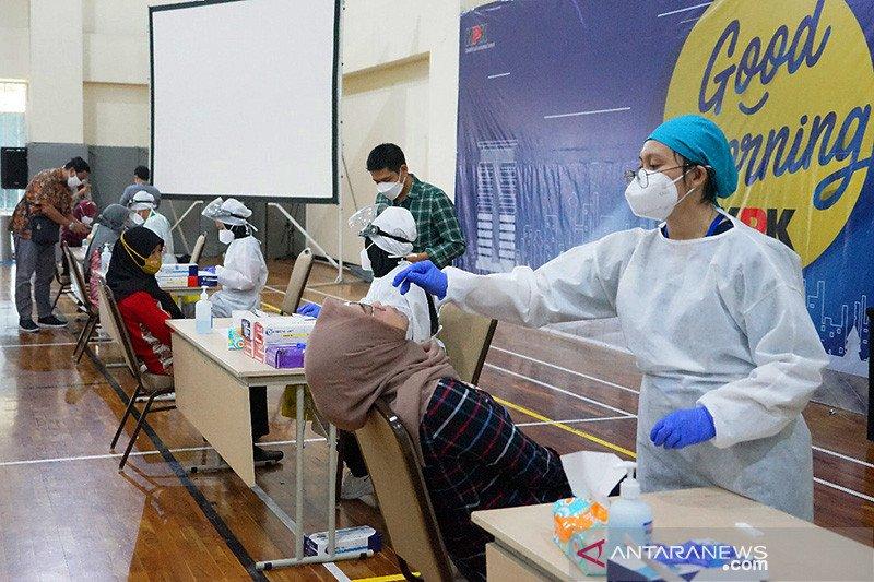 KPK lakukan tes antigen untuk seluruh pegawai