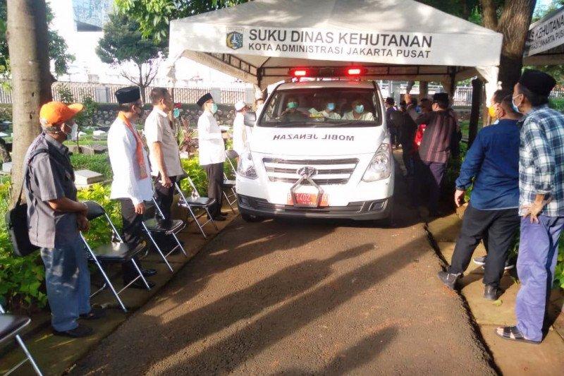 Mantan Sekda DKI Muhayat dimakamkan di TPU Karet Bivak