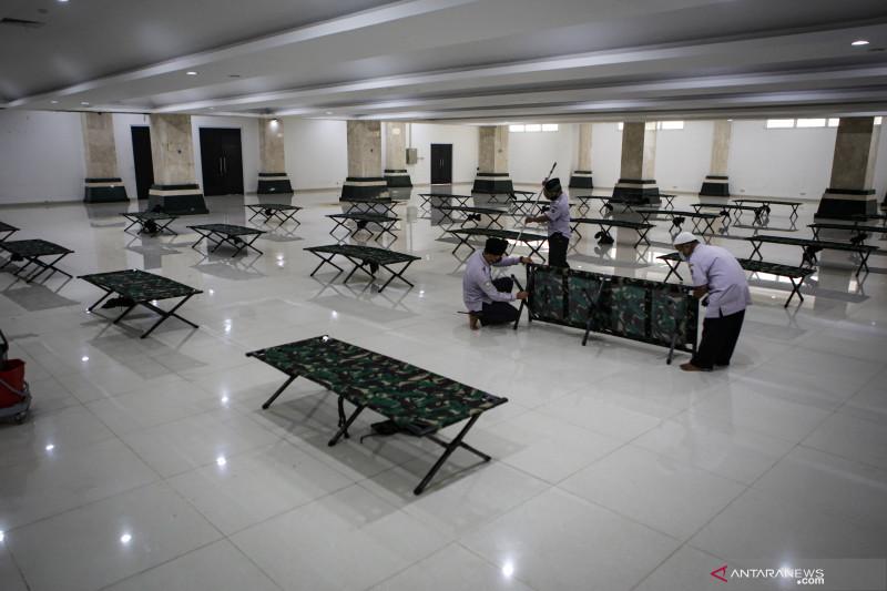 Masjid Raya KH Hasyim Asyari disiapkan jadi lokasi isolasi