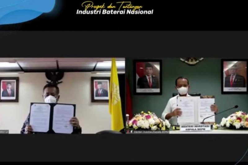 Kementerian Investasi gandeng UI dorong investasi baterai listrik