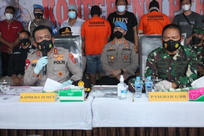 Polisi tetapkan 3 tersangka pembunuhan wartawan di Simalungun