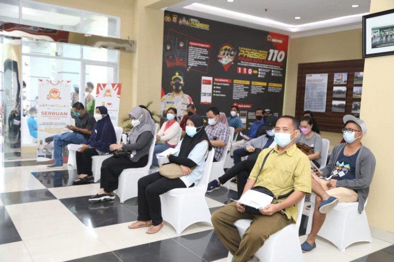 Polresta Tangerang gelar vaksinasi COVID-19 sebanyak 2.000 dosis