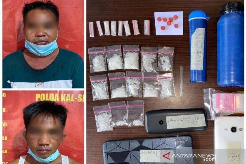 Dua petani di Kalsel diringkus edarkan narkoba