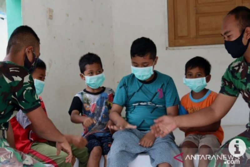 TMMD di Tapin berikan wawasan kebangsaan kepada anak anak