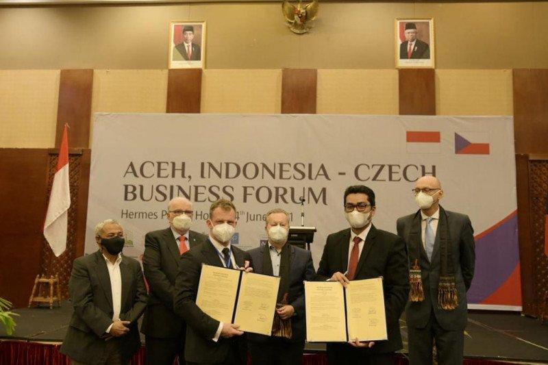 Pemerintah Aceh buka investasi untuk Republik Ceko