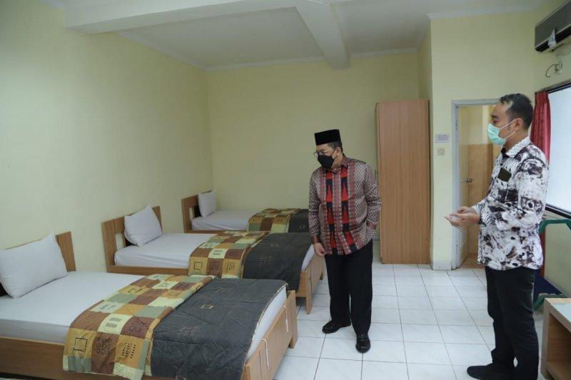 Tiga ribu kamar di asrama haji siap digunakan untuk ruang isolasi