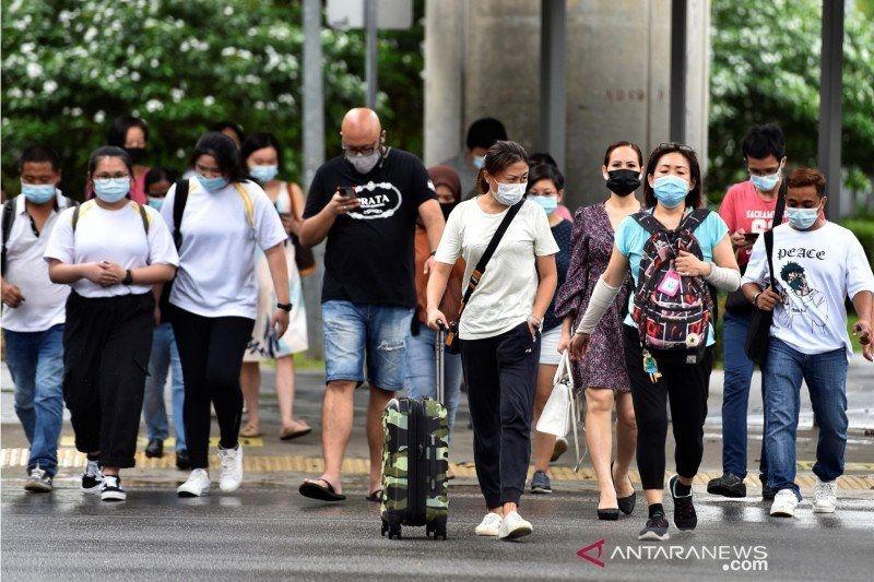 Penerima vaksin di Singapura sumbang 75 persen kasus COVID-19