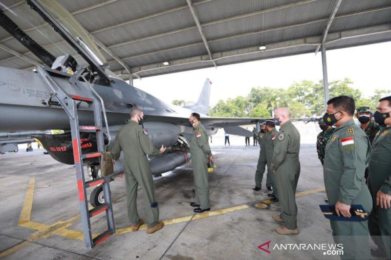 Panglima AU saksikan latihan gabungan RI-AS-
