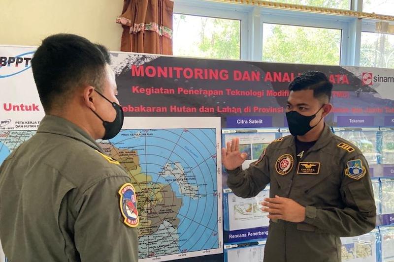 Kapten Pnb Chandra Ariwibowo, pemburu awan dari Skuadron Udara 4
