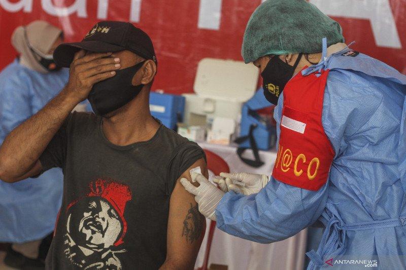 Penerima vaksin lengkap warga Indonesia bertambah 142.834 jiwa