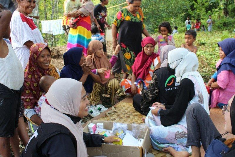 ACT--MRI bangun posko layanan kesehatan untuk penyintas gempa Malteng