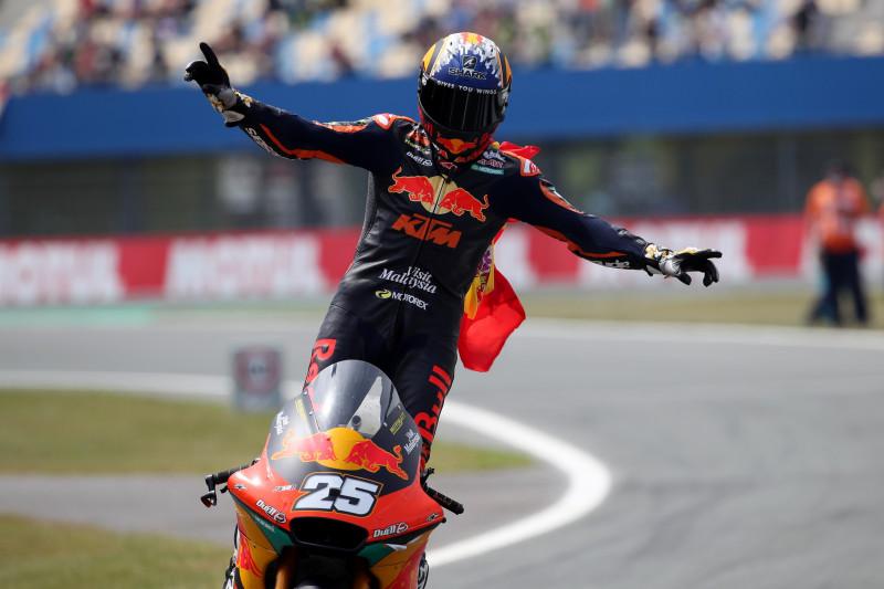 Fernandez juarai GP Belanda, Pertamina Mandalika raih poin ganda
