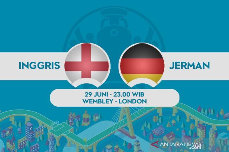 Preview 16 besar Euro 2020 Inggris vs Jerman
