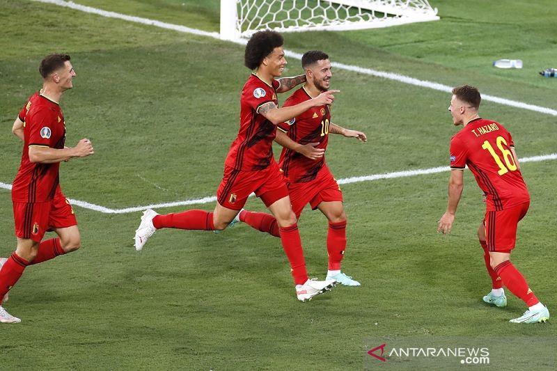 Belgia pastikan Portugal gagal pertahankan gelar juara Piala Eropa