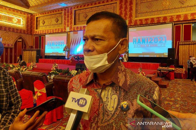 BNNP Sumbar minta semua pihak konsisten perangi narkoba