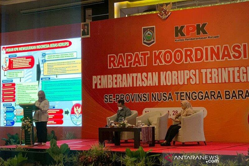 Pimpinan KPK mengingatkan kepala daerah di NTB tidak korupsi