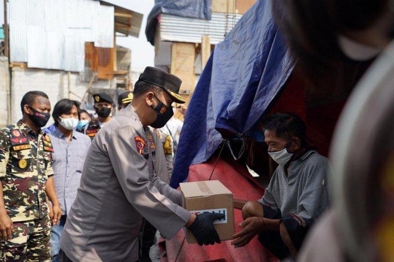 Korban kebakaran di Kapuk Muara doakan Polri lebih dekat masyarakat
