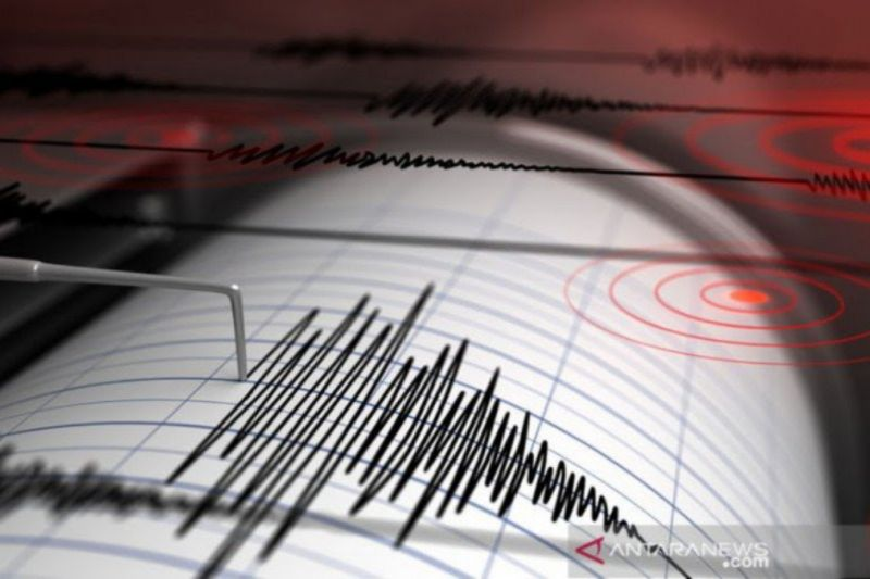 Gempa bumi magnitudo 5,2 guncang Pacitan, Jawa Timur