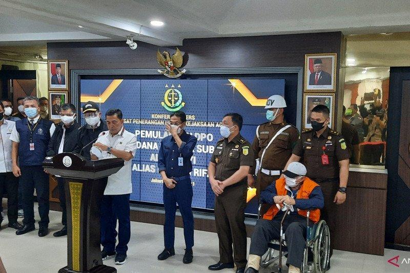 Buronan Hendra Subrata jalani eksekusi di Lapas Salemba Jakarta