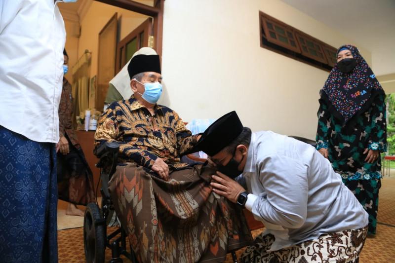 Menag sowan ke para kiai sembari sosialisasi surat edaran Idul Adha