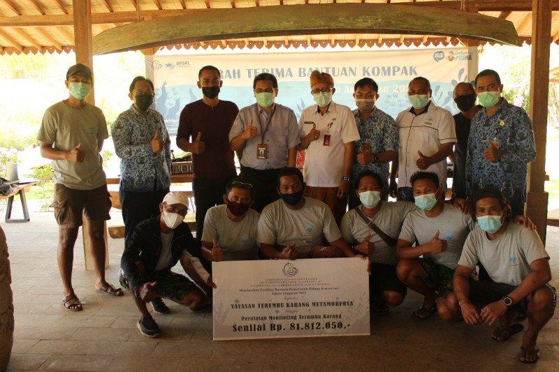 KKP salurkan bantuan pendukung monitoring terumbu karang di Buleleng
