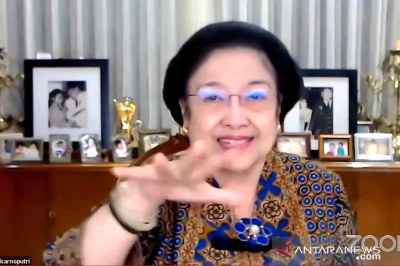 Megawati mengajak anak muda miliki semangat juang