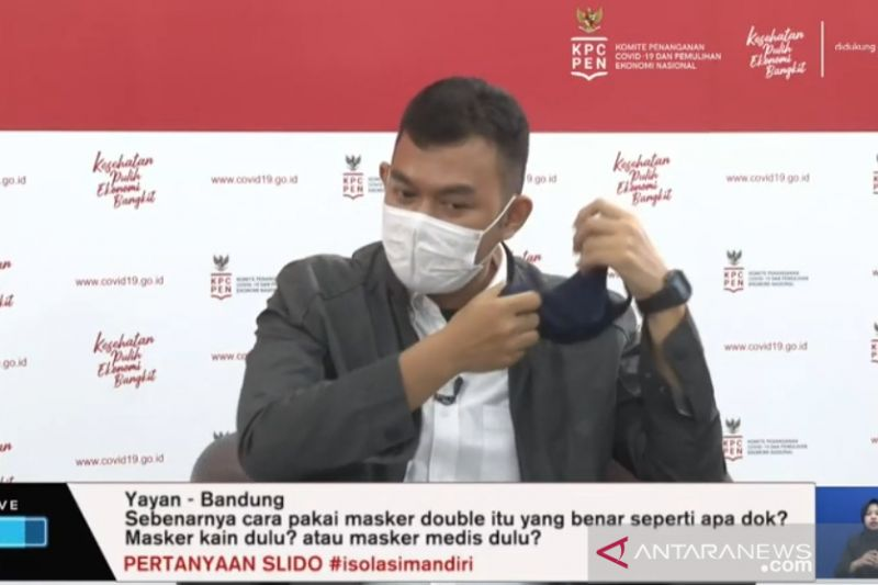 Cegah penularan COVID-19, kiat memilih dan gunakan masker dengan benar