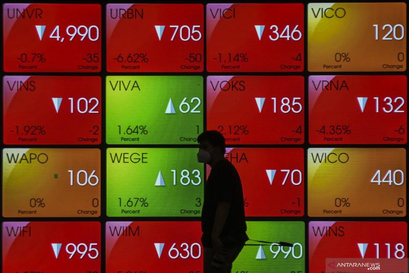 IHSG akhir pekan melemah, investor cari akumulasi sektor prospektif