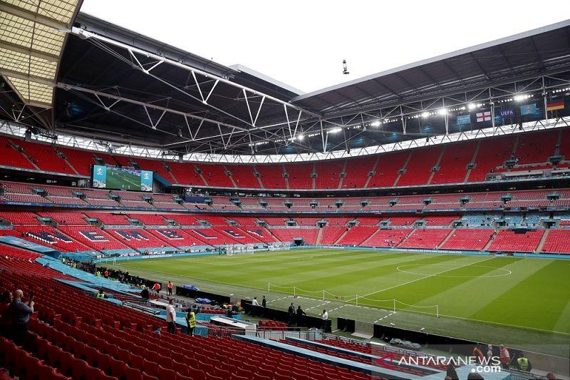 UEFA diminta pertimbangkan ulang gelar semifinal-final Euro di Wembley