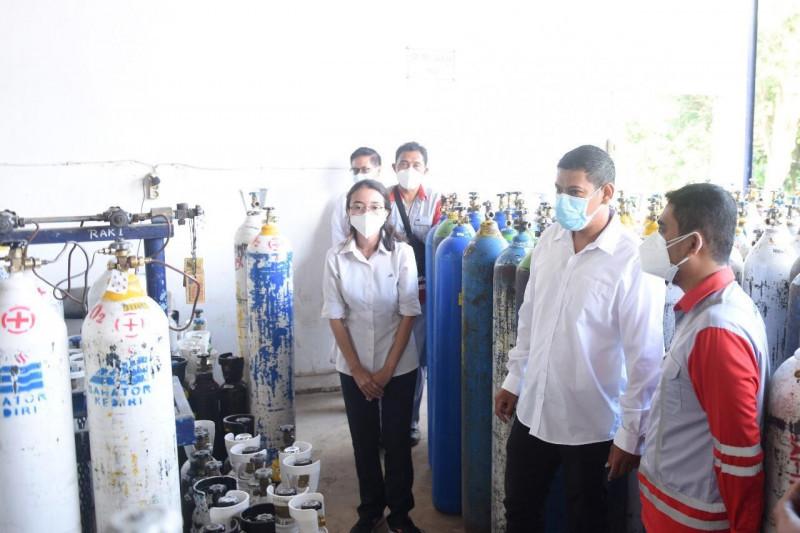 Wali Kota Kediri pastikan pasokan tabung oksigen mencukupi