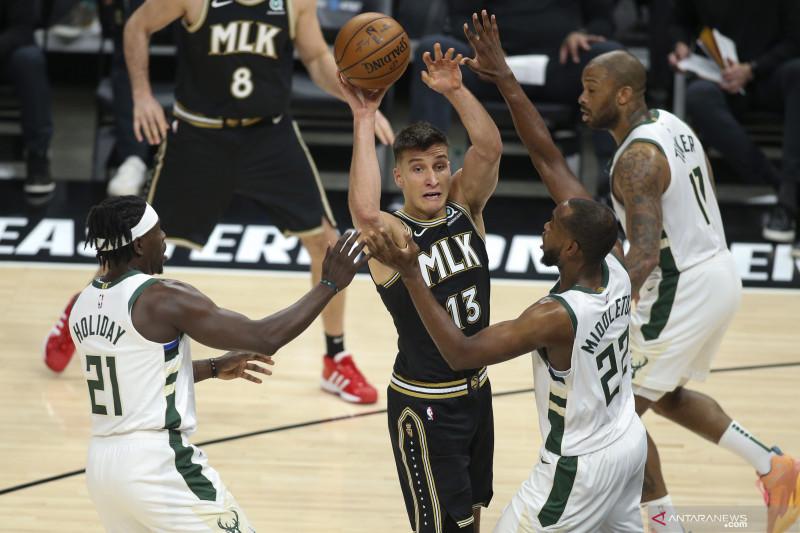Playoff wilayah timur  NBA: Hawks samakan kedudukan atas Bucks 2-2