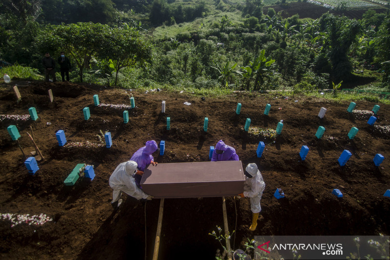 Gubernur: Angka kasus kematian akibat COVID-19 di Jawa Barat turun