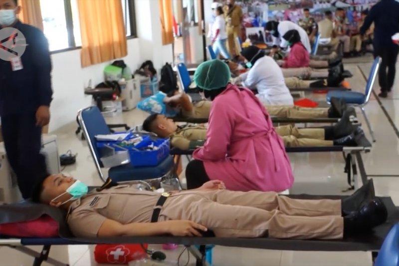 PMI Kota Jayapura gelar baksos donor darah