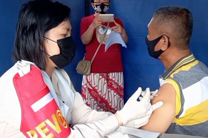 Cakupan vaksinasi di Kota Palu capai 84 ribu